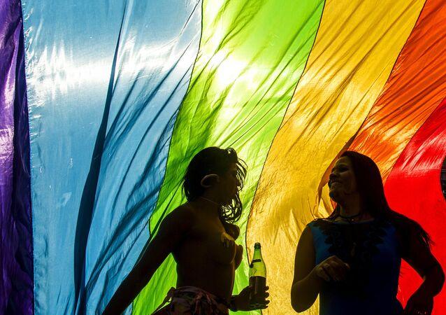 Desfile LGBT en Sao Paulo