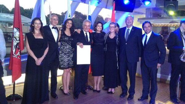 Arquitecto mexicano recibe en Moscú premio Sir Geoffrey Jellicoe Award 2015 - Sputnik Mundo