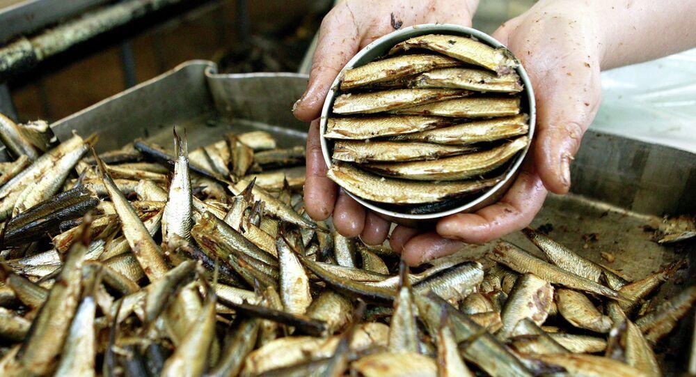 Combinado de conservas de pescado