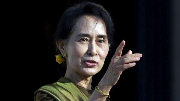 Aung San Suu Kyi, líder de la oposición en Myanmar - Sputnik Mundo