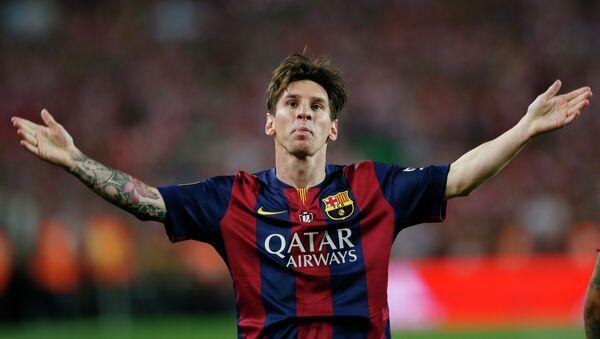 Lionel Messi - Sputnik Mundo
