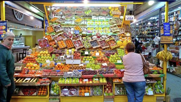 Mercado Central en San Paulo, Brasil - Sputnik Mundo