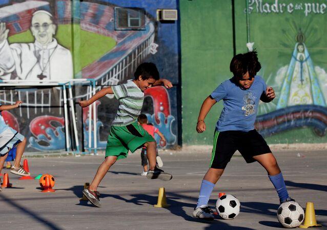 Fútbol infantil en Argentina