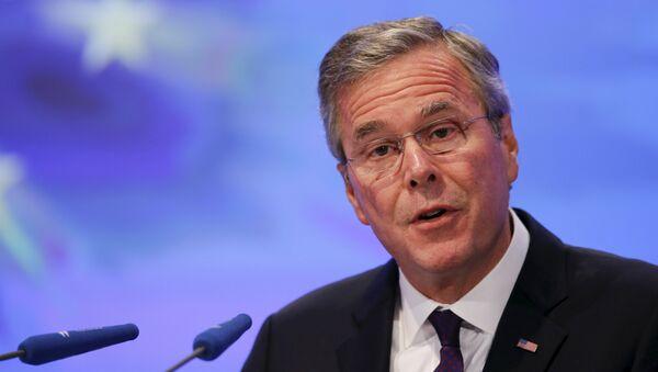 Jeb Bush, exgobernador de Florida - Sputnik Mundo