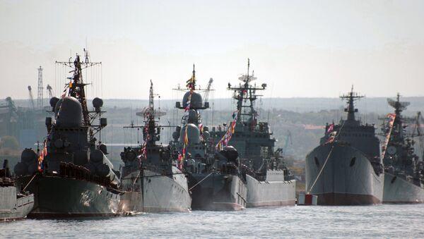 La Flota del mar Negro rusa - Sputnik Mundo