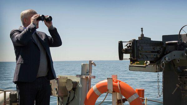 Primer ministro canadiense afirma haber visto buques de guerra rusos en el Báltico - Sputnik Mundo