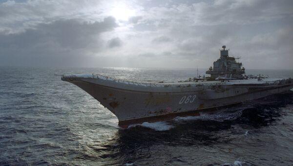Portaaviones Almirante de la Flota de la Unión Soviética Kuznetsov - Sputnik Mundo