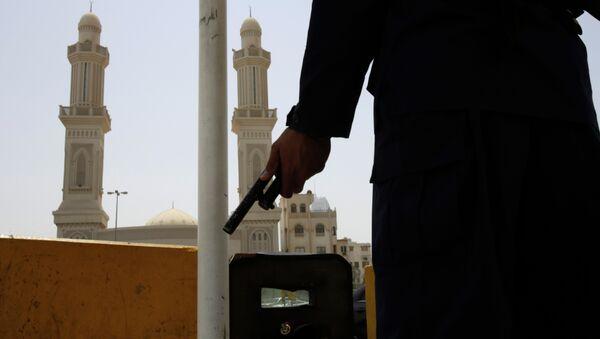 Policías de Bahréin - Sputnik Mundo