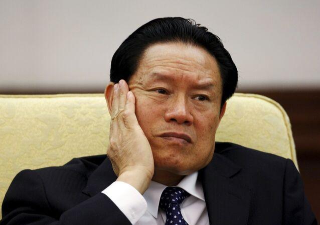 Zhou Yongkang, antiguo jefe del aparato de seguridad de China