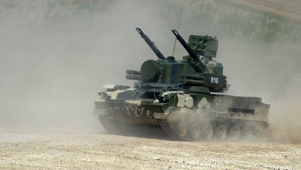Sistema de defensa antiaérea Tunguska - Sputnik Mundo