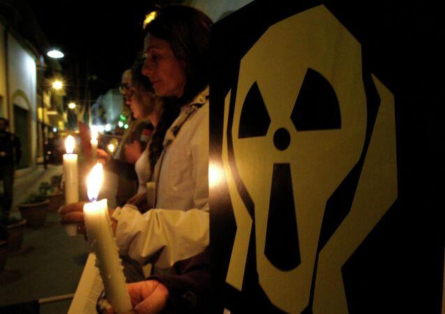 Manifestación contra la construcción de la central nuclear de Akkuyu (Archivo)