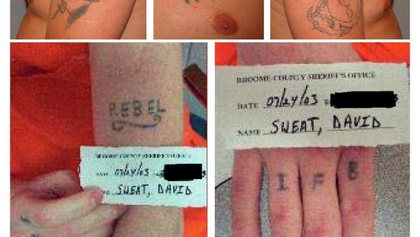 Tattoos de Richard Matt y David Sweat - Sputnik Mundo