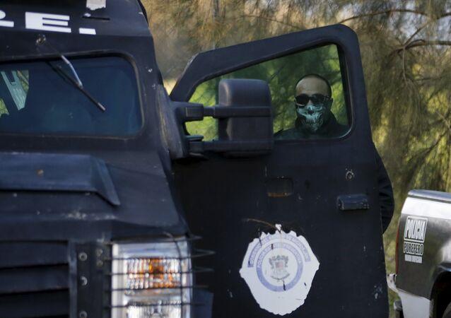 Un policía mexicano (Archivo)