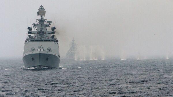 Ejercicios navales (Archivo) - Sputnik Mundo