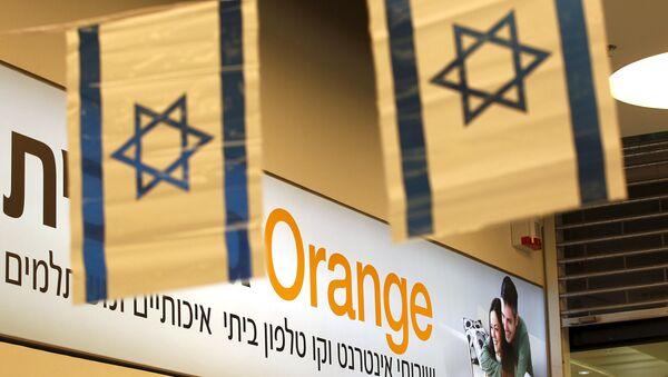 Compañía de telefonía móvil Orange en Israel - Sputnik Mundo