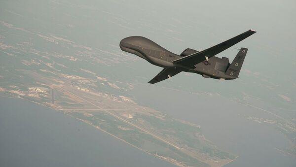 Avión no tripulado de EEUU RQ-4 Global Hawk - Sputnik Mundo