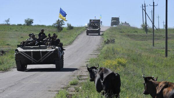 Miembros de las fuerzas armadas de Ucrania - Sputnik Mundo