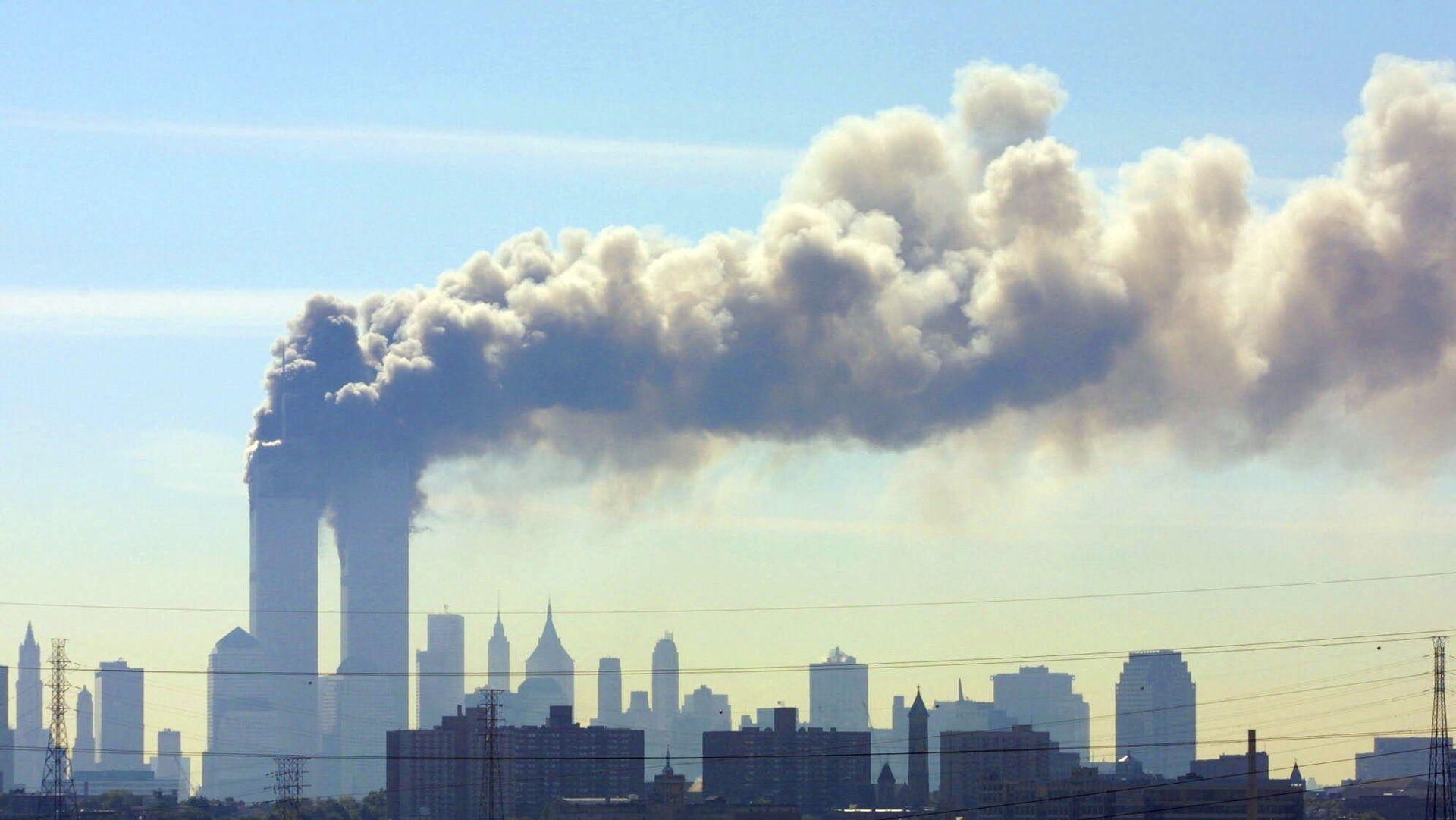 Ataque terrorista contra las Torres Gemelas en Nueva York (archivo) - Sputnik Mundo, 1920, 11.09.2021