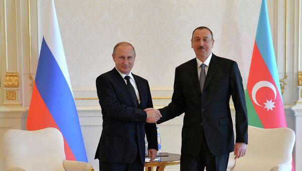 Рабочий визит президента РФ В.Путина в Азербайджан. День второй - Sputnik Mundo