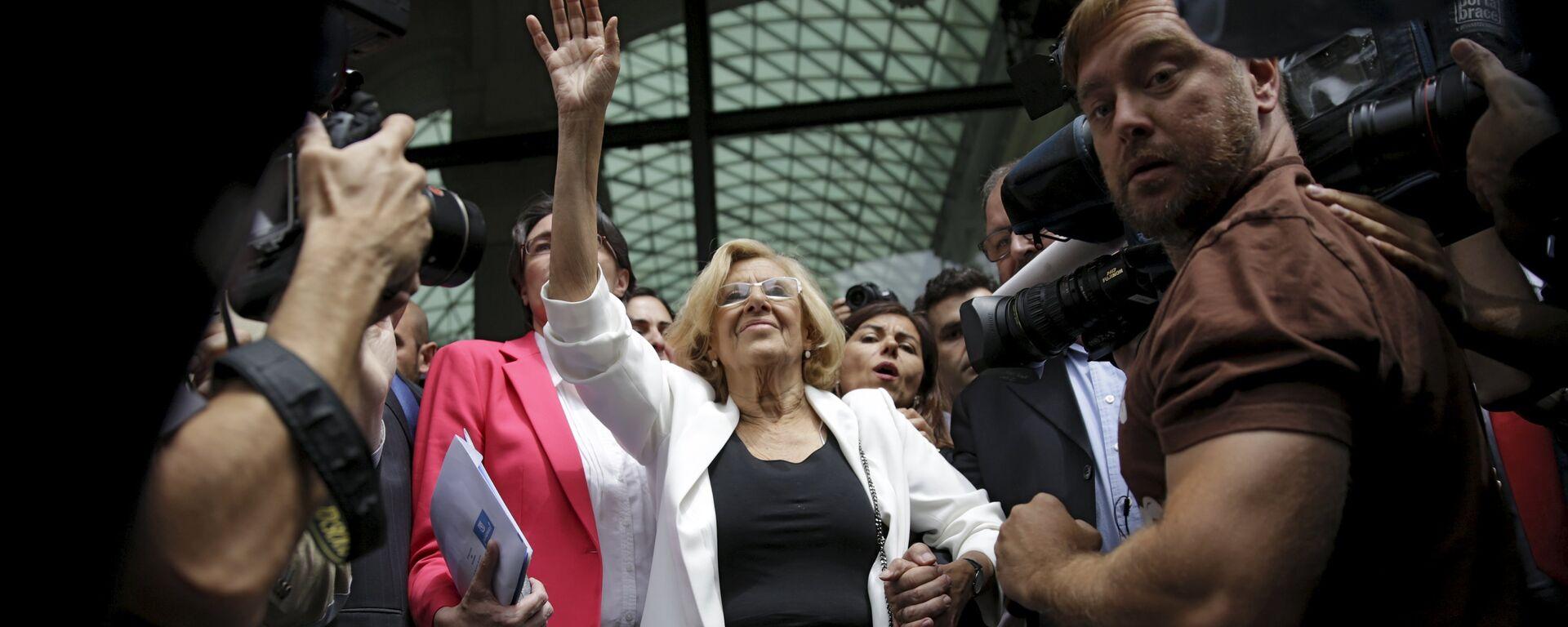 Manuela Carmena, alcaldesa de Madrid - Sputnik Mundo, 1920, 13.06.2015
