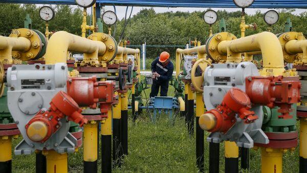 Tuberías de gas en Ucrania (archivo) - Sputnik Mundo
