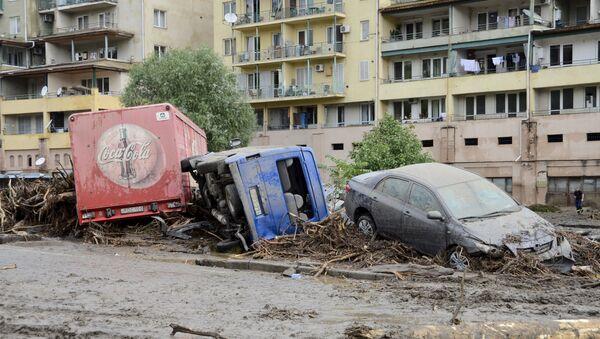 Inundación en Tiflis - Sputnik Mundo