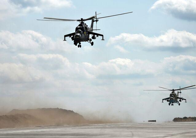 Helicópteros rusos Mi-35