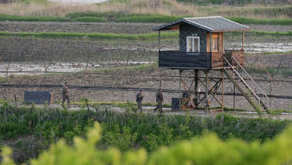 Zona Desmilitarizada (DMZ) entre Corea del Sur y Corea del Norte - Sputnik Mundo