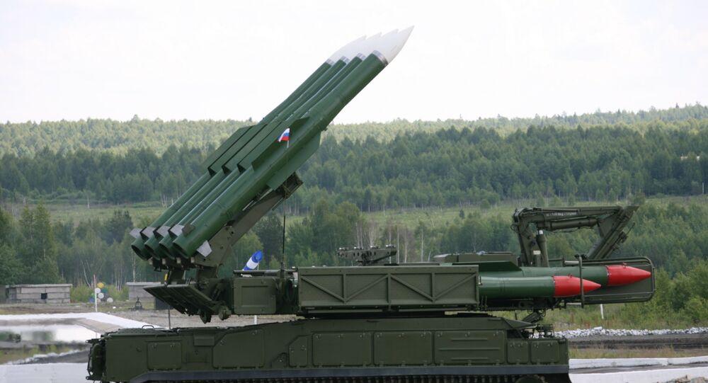 Sistema de misiles antiaéreos Buk-M2E