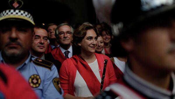 Ada Colau, alcaldesa de Barcelona - Sputnik Mundo