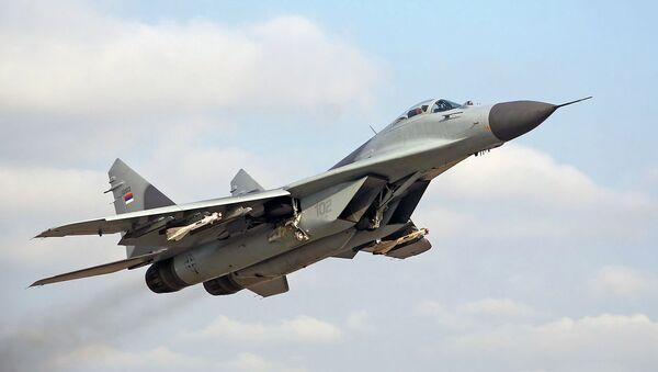 MiG-29 serbio - Sputnik Mundo