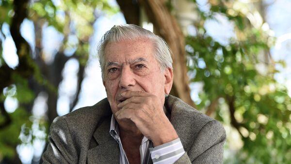 Mario Vargas Llosa - Sputnik Mundo