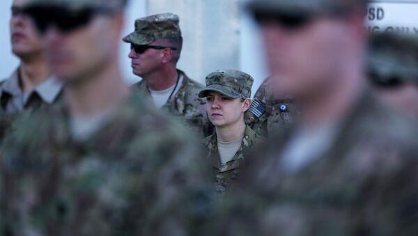 Militares de las Fuerzas Internacionales de Apoyo a la Seguridad en Afganistán (ISAF) - Sputnik Mundo