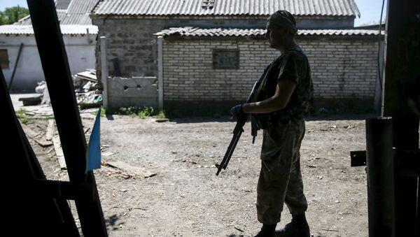 Kiev acusa de alta traición a dos militares que se unieron a milicias - Sputnik Mundo