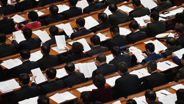 Asamblea Popular Nacional de China (archivo) - Sputnik Mundo