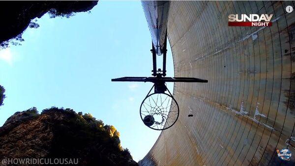 El récord mundial del básket - Sputnik Mundo
