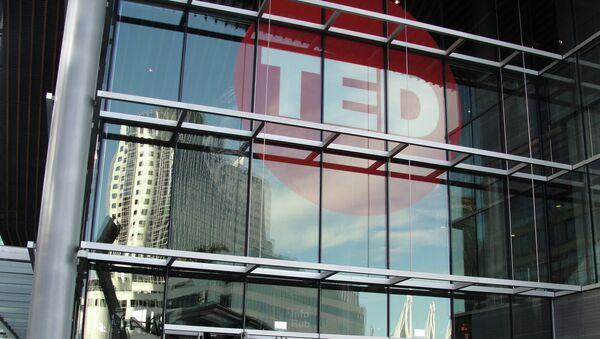 Logo de TED - Sputnik Mundo