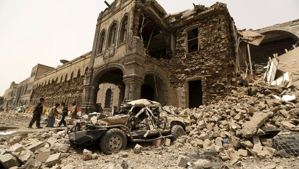 Los bombardeos contra Yemen destruyeron 16 monumentos antiguos - Sputnik Mundo