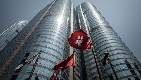 Bolsa de Hong Kong - Sputnik Mundo
