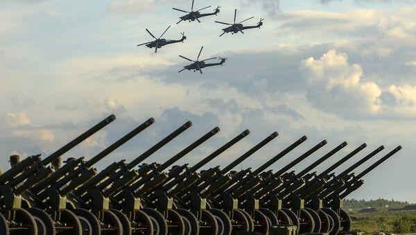 Tropas en el este de Rusia recibirán más de 700 piezas de armamento en 2016 - Sputnik Mundo