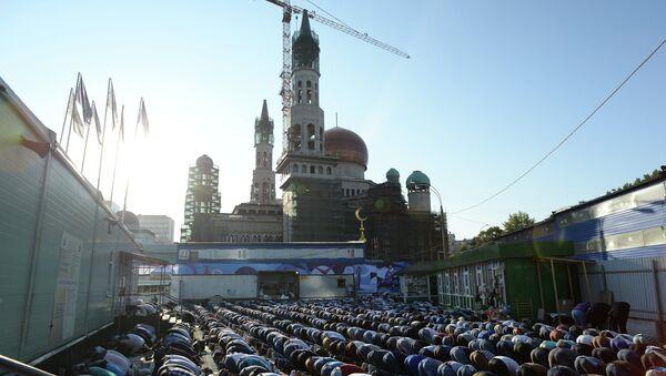 Reconstrucción de la Mezquita Catedral de Moscú - Sputnik Mundo