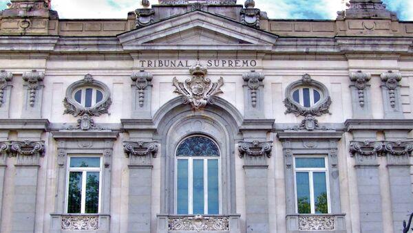 Fachada del edificio del Tribunal Supremo - Sputnik Mundo