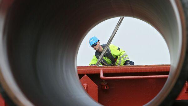 Construcción de un gasoducto - Sputnik Mundo