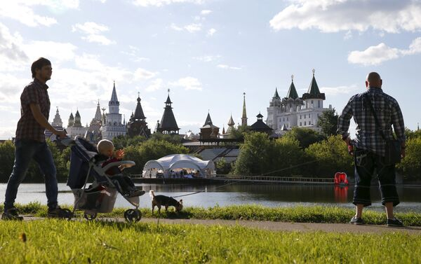 El Kremlin de Izmailovo Kremlin, one of the capital's museums and sightseeing attractions, in Moscow, Russia, June 6, 2015 - Sputnik Mundo