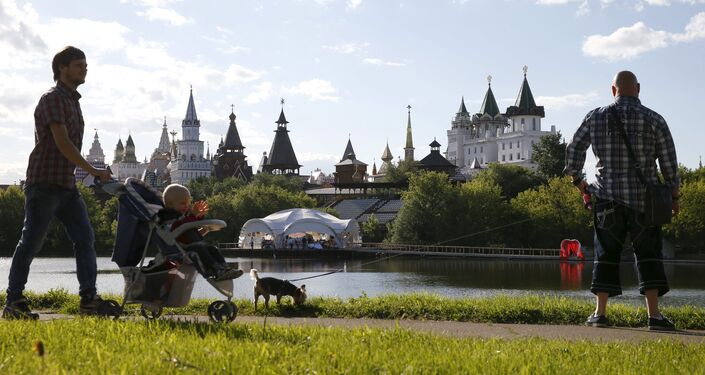 El Kremlin de Izmailovo Kremlin, one of the capital's museums and sightseeing attractions, in Moscow, Russia, June 6, 2015