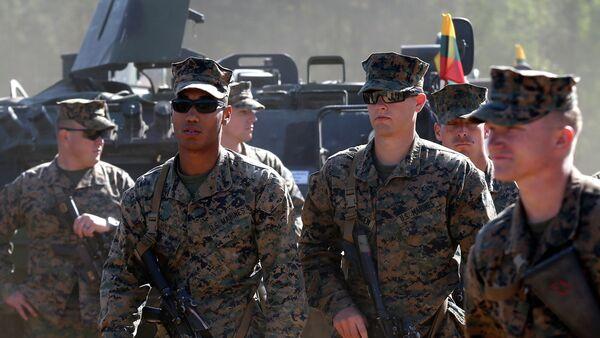 Lituania autorizará la presencia militar de EEUU en su territorio - Sputnik Mundo