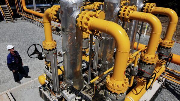 Construcción del gasoducto en Rusia (archivo) - Sputnik Mundo