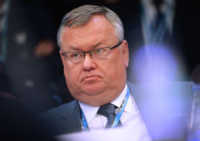 Andréi Kostin, jefe del banco VTB