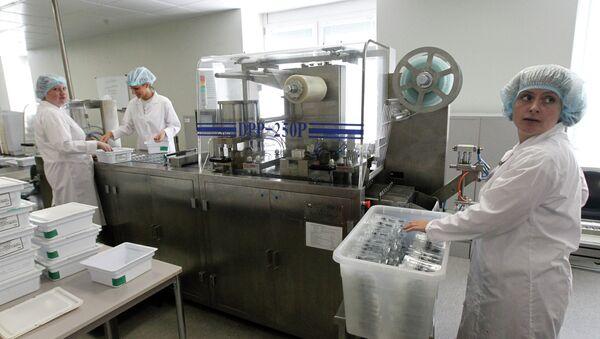 Empresa que produce vacunas en la región de Moscú (Archivo) - Sputnik Mundo
