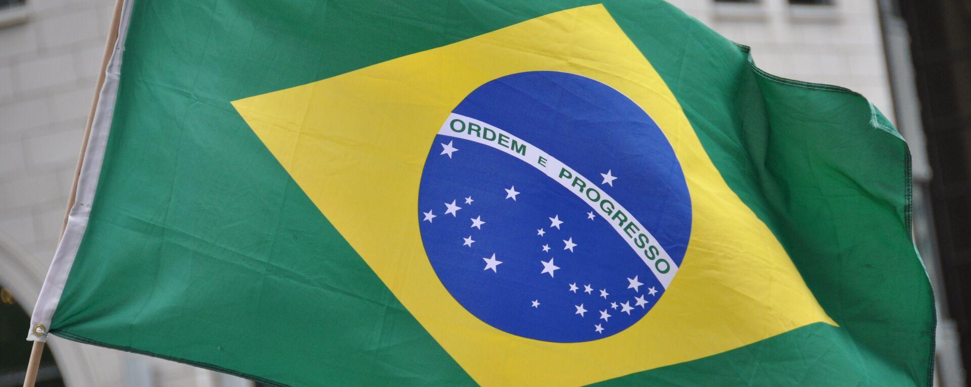 Bandera de Brasil - Sputnik Mundo, 1920, 10.06.2021
